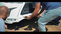 AcademeG жЫпы жЫпы - Роскошь - в г@#но !!! Range Rover SVR vs Lexus LX570 offroad.