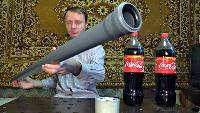 KREOSAN Все видео Запуск камеры в воздух на ракете из Кока Колы