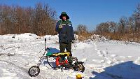 KREOSAN Все видео Зверские испытания самодельного Снегохода из БензоПилы