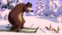 Маша и Медведь Сезон-1 Серия 14. Лыжню!