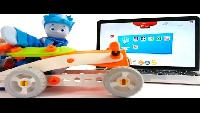Обзоры детских игр и приложений - Фиксики - Паззлы для Детей - Соберем машинку!