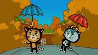Песенки для котят Сезон-1 Дождик, дождик, уходи!