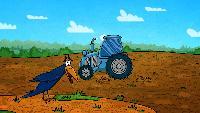 Профессор Почемушкин Сезон-1 Почему у трактора задние колеса больше передних?