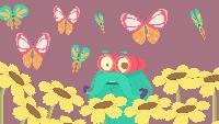 Шоу профессора Бинокса Сезон-1 Жизнь бабочки
