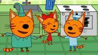 Три кота 1 сезон 5 серия. Варенье в подвале