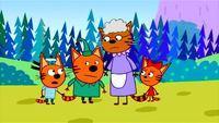 Три кота 1 сезон 7 серия. Клад