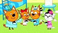 Три кота 3 сезон 111 серия. Заморские гости