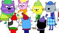 Три кота 3 сезон 114 серия. Выборы