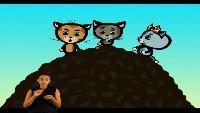 Три котёнка (Сурдоперевод) Сезон 4 Серия 2. Мой голову