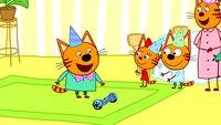 Три кота 3 сезон 140 серия. Гироскутер для Компота